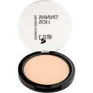 E style Soft Shining Brightening Compact Powder For a Perfect Skin Tone Color 02 Beige 12 g