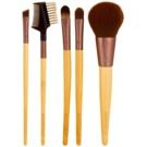 EcoTools Essential набір щіточок для макіяжу 1206 (Bamboo) 5 кс