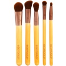 EcoTools Essential set de brochas para ojos 1227 (Bamboo & Recycled Materials)