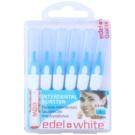 Edel+White Interdental Brushes міжзубні щіточки 6 штук Blue S (0,6/3,0 mm)