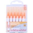 Edel+White Interdental Brushes міжзубні щіточки 6 штук Orange SSS (0,45/2,0 mm)