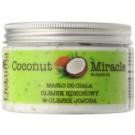 Efektima Institut Coconut Miracle tělové máslo s hydratačním účinkem (Coconut Oil & Jojoba Oil) 250 ml