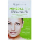 Efektima PharmaCare Mineral-SPA reinigende Pflege 3 in1 (Scrub+Mask+Washing Face Cream) 10 ml