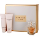 Elie Saab Le Parfum lote de regalo II.  eau de parfum 50 ml + leche corporal 75 ml + crema de ducha 75 ml