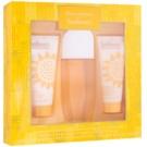 Elizabeth Arden Sunflowers dárková sada I. toaletní voda 100 ml + tělové mléko 100 ml + tělový krém 100 ml