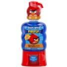 EP Line Angry Birds Firefly ústní voda s dávkovačem (Sugar Free, Alcohol Free, with Fluoride) 473 ml