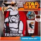 EP Line Star Wars coffret III. gel de duche 30 ml + luvas de limpeza + cápsula de banho espumante