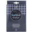 Epilfeet Men sosete exfoliante pentru hidratarea picioarelor Size 40 - 45 (Natural Silky Feet)