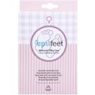 Epilfeet Women exfoliační ponožky pro zjemnění a hydrataci pokožky nohou Size 35-39 (Natural Silky Feet)