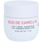 Erborian Cammelia posvetlitvena krema in maska 2v1 Duo De Camellia 50 ml