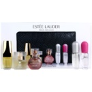 Estée Lauder Mini ajándékszett III.  Eau de Parfum 4,7 ml + Eau de Parfum 4 x 4 ml + kézitáska