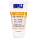 Eubos Basic Skin Care Mild delikatny szampon do codziennego użytku (With Panthenol, Avocado Oil, Camomile and Birch Extract) 150 ml