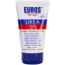 Eubos Dry Skin Urea 10% leite corporal hidratante para pele seca e com purido (Rapidly Absorbed and Slightly Perfumed) 150 ml