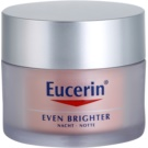 Eucerin Even Brighter éjszakai krém a pigment foltok ellen (Depigmenting Night Cream) 50 ml