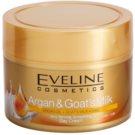 Eveline Cosmetics Argan & Goat´s Milk wygładzający krem na dzień przeciw zmarszczkom  50 ml