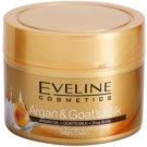 Eveline Cosmetics Argan & Goat´s Milk nährende und beruhigende Nachtcreme gegen Falten  50 ml