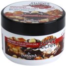 Farmona Sweet Secret Nut exfoliante a base de azúcar Nut Muffins with Caramel  225 ml