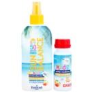 Farmona Sun Balance mleczko do opalania w sprayu SPF 50 z bańkami mydlanymi (Waterproof, E+F Vitamins, Panthenol) 200 ml