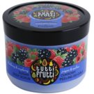Farmona Tutti Frutti Blackberry & Raspberry exfoliant din zahar pentru corp (Fruity Bliss Captivates the Senses and Body) 300 g