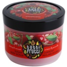 Farmona Tutti Frutti Cherry & Currant cukros peeling testre (Fruity Bliss Captivates the Senses and Body) 300 g