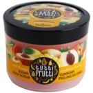 Farmona Tutti Frutti Peach & Mango exfoliant din zahar pentru corp  300 g