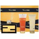 Fendi Fan di Fendi ajándékszett II. Eau de Parfum 75 ml + testápoló tej 75 ml + tusfürdő gél 75 ml