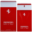 Ferrari Man in Red eau de toilette férfiaknak 100 ml