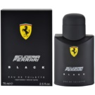 Ferrari Scuderia Ferrari Black Eau de Toilette for Men 75 ml