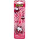 FireFly Hello Kitty zubní kartáček pro děti s držákem soft Pink (Ages 2 - 6)