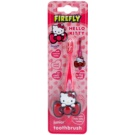 FireFly Hello Kitty Kids' Toothbrush with Toothbrush Holder Soft Pink (Ages 2 - 6)