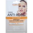 FlosLek Laboratorium Anti-Aging Gold & Energy máscara oxigenante de ouro e argila  2 x 5 ml
