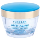 FlosLek Laboratorium Anti-Aging Mineral Therapy helyreállító éjszakai krém (Replenishes, Smoothes the Skin) 50 ml