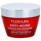 FlosLek Laboratorium Anti-Aging Hyaluronic Therapy дневен хидратиращ крем против стареене на кожата SPF 15 50 мл.