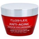 FlosLek Laboratorium Anti-Aging Hyaluronic Therapy creme hidratante diário contra o anti-envelhecimento da pele SPF 15 50 ml