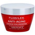 FlosLek Laboratorium Anti-Aging Hyaluronic Therapy crema de noapte hidratanta cu efect antirid 50 ml