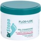 FlosLek Laboratorium Foot Therapy skořicová koupelová sůl na nohy s hřejivým účinkem  500 g