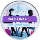 FlosLek Laboratorium Lip Vaseline Meeting Lippenbalsam Geschmack Caramel Flavour 15 g
