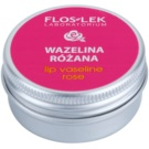 FlosLek Laboratorium Lip Care Rose Vaseline für Lippen  15 g