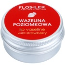 FlosLek Laboratorium Lip Care Wild Strawberry Vaseline für Lippen 15 g
