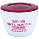 FlosLek Laboratorium Oils & Peptides Regeneration 60+ creme intensivo com efeito lifting SPF 10 50 ml