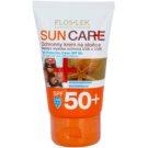 FlosLek Laboratorium Sun Care crema protectora SPF 50+ (Sensitive skin: phototype I and II) 50 ml