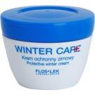 FlosLek Laboratorium Winter Care зимен защитен крем за чувствителна кожа на лицето (Vitamin E, Panthenol, Sweet Almond Oil) 50 мл.