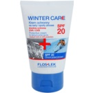 FlosLek Laboratorium Winter Care zimska zaščitna krema SPF 20 (Protective Cream for Skiing & Winter Sports) 50 ml