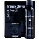 Franck Olivier Black Touch dárková sada I. toaletní voda 100 ml + deodorant ve spreji 200 ml