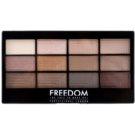 Freedom Pro 12 Audacious 3 Palette mit Lidschatten mit einem  Applikator  12 g