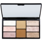 Freedom Pro Blush Bronze and Baked arckontúr paletta (Pro Blush & Highlight) 15 g