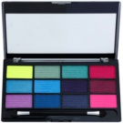 Freedom Pro 12 Chasing Rainbows paleta senčil za oči z aplikatorjem 12 g