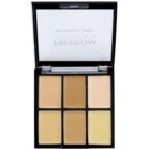 Freedom Pro Conceal paleta de corretores tom Light-Medium 6 g