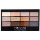 Freedom Pro 12 Le Fabuleux paleta senčil za oči z aplikatorjem  12 g