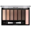 Freedom Pro Shade & Brighten Mattes Kit 1 paleta cieni do powiek z rozświetlaczem  5,6 g